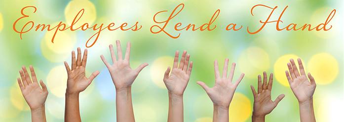 Employees Lend a Hand