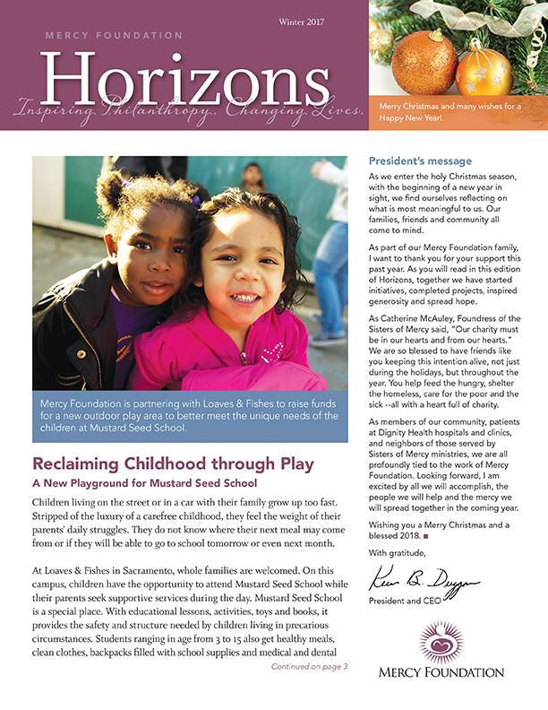 Horizons Newsletter December 2017
