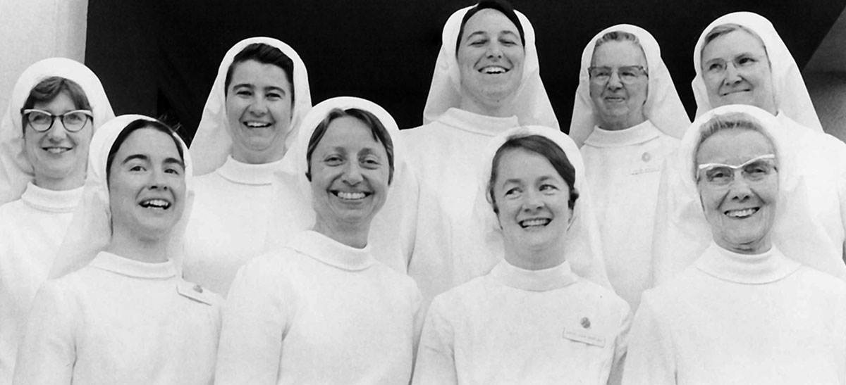 Sisters of Mercy historic group photo